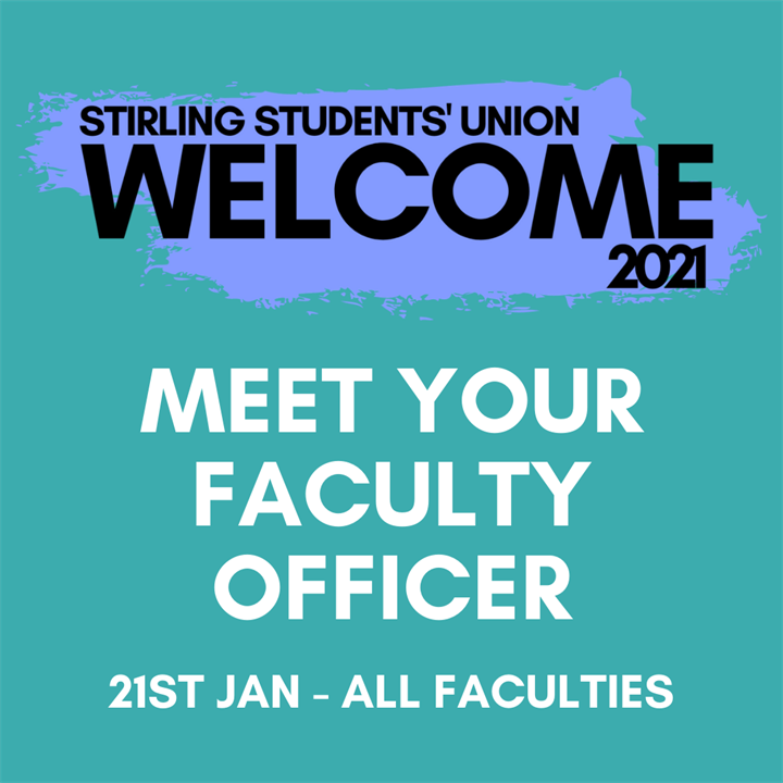 Welcome 2021: Meet Your Faculty Officer