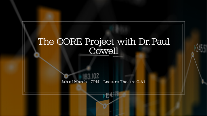The CORE Project with Dr. Paul Cowell