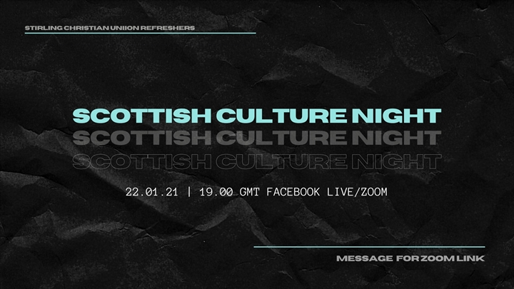 Scottish Culture Night